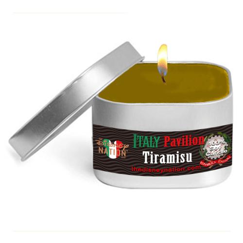 Italy Pavilion Tiramisu Small Candle