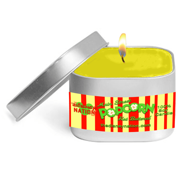 Main Street Popcorn Fragrance Candle Small