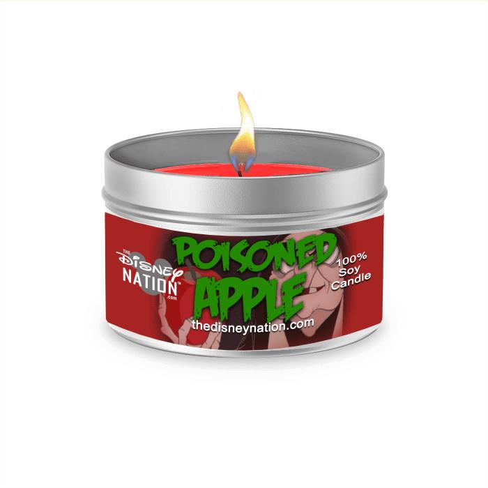 Poisoned Apple Fragrance Candle Large