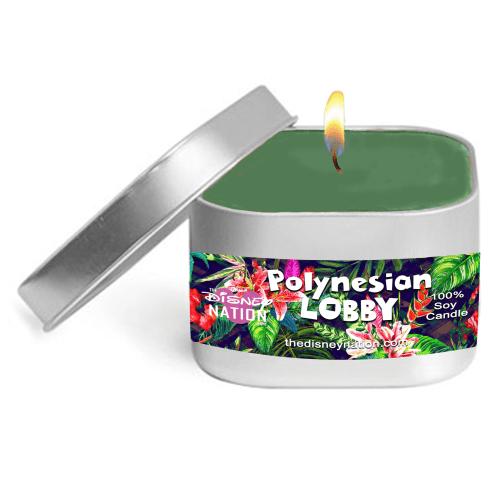 Polynesian Lobby Fragrance Candle Small