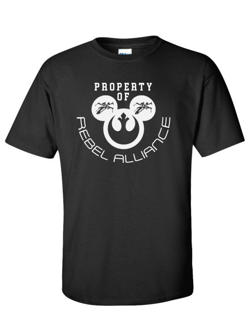 Property of Rebel Alliance Black T-Shirt