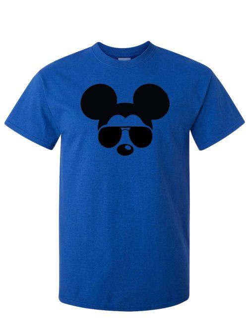 Cool Mickey Antique Royal Blue T-Shirt