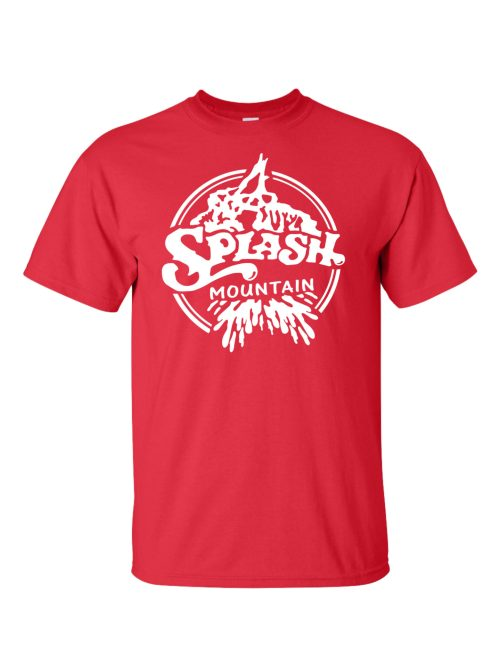 Splash Mountain Red T-Shirt