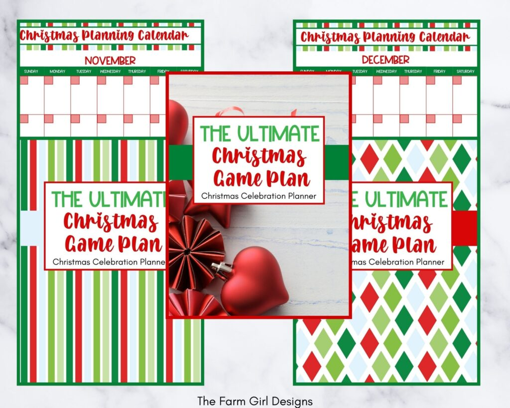 The Ultimate Christmas Game Plan Holiday Planner The