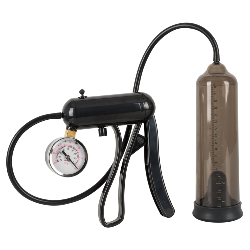 Mister Boner Professional Penis Pump With Gauge