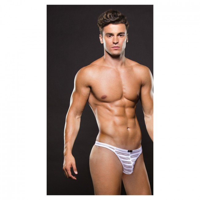 Envy MICROFIBER THONG White