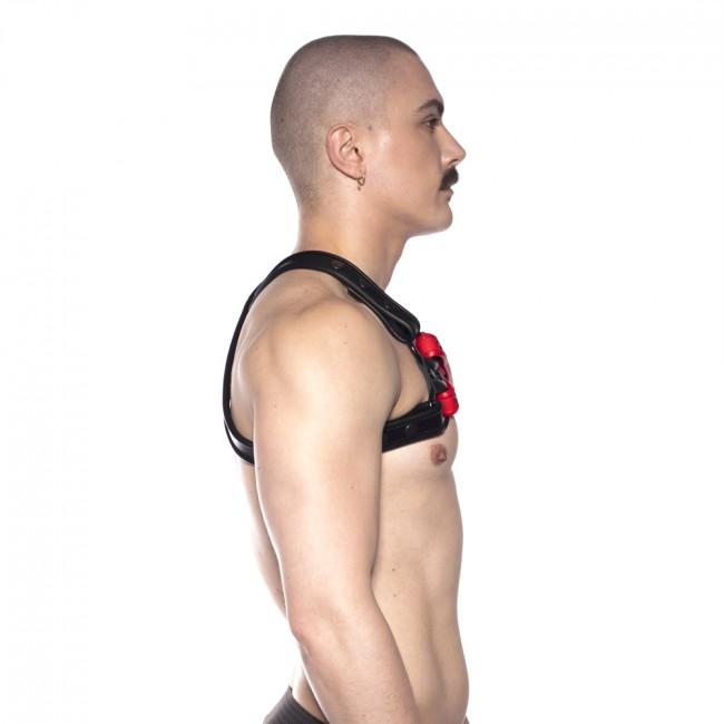 Prowler RED Cross Harness Black/Red
