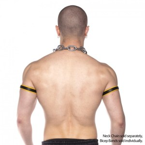 Prowler RED Bicep Band Black/Yellow