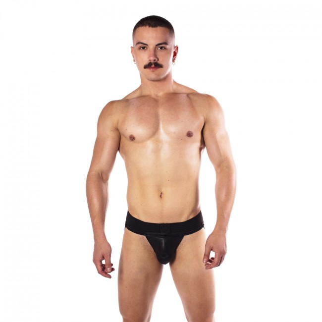 Prowler RED Hole Punch Jock Black