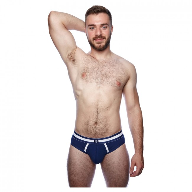 Prowler Classic Backless Brief Navy/White