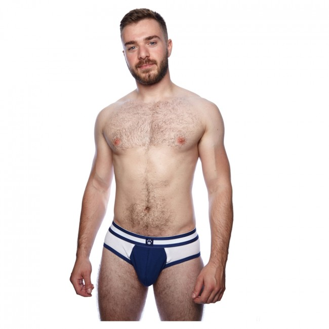 Prowler Classic Sports Brief White/Navy
