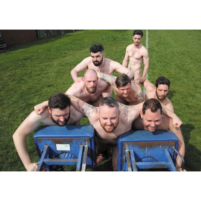 The Naked Rugby Players calendar inside