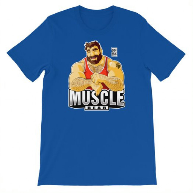Bobo Bear MUSCLE BEAR T-SHIRT