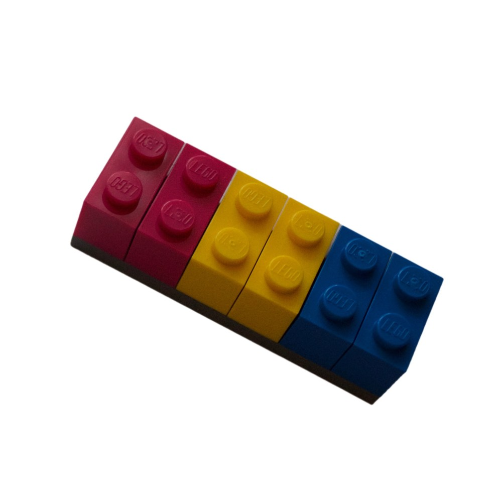 Pansexual Lego Brick Fridge Magnet