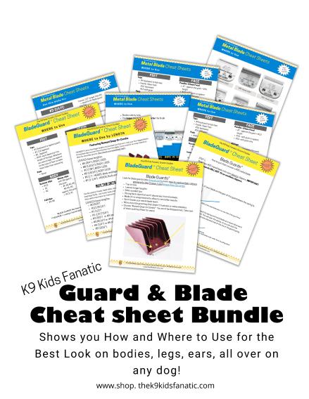 blades & guards cheat sheet usage
