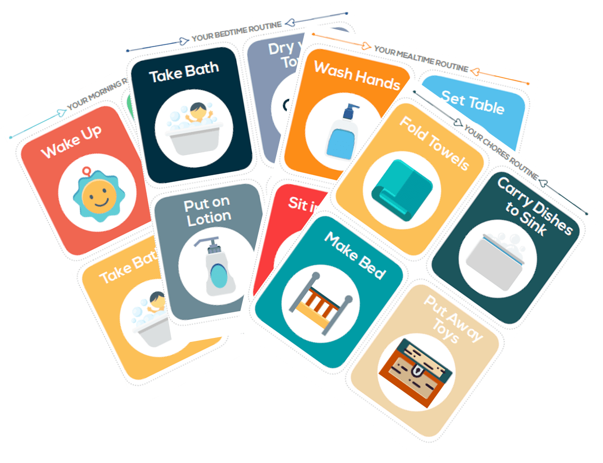Best Printable Daily Routine Picture Cards For Kids
