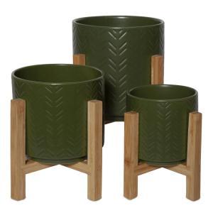Arta Pot Dark Green