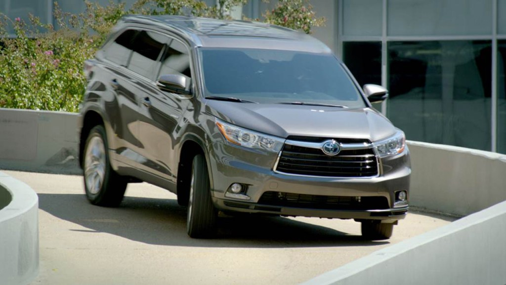 Toyota's new crossover Georgia