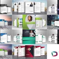 Bewerbungsvorlage bundle topdesign24