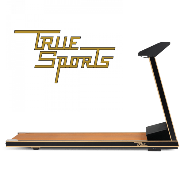 Our history. TRUE Sports gold treadmill.