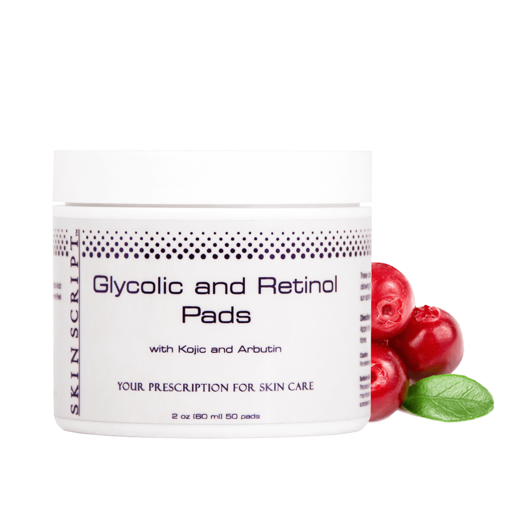 Skin Script Exfoliant: Glycolic and Retinol Pads