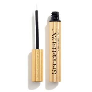 Thick Eyebrows with GrandeBROW Brow Enhancing Serum