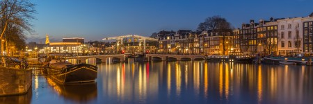 Amsterdam by Night foto - Magere Brug