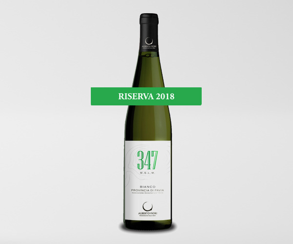 347 mslm Bianco Provincia di Pavia IGT Riserva 2018 - Valdamonte