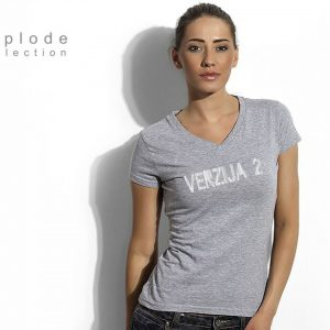 T-Shirt Lady Gray