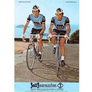 maillot vélo course vintage jollj ceramica