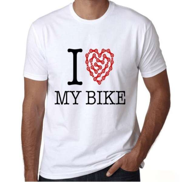 i love my bike tshirt t shirt