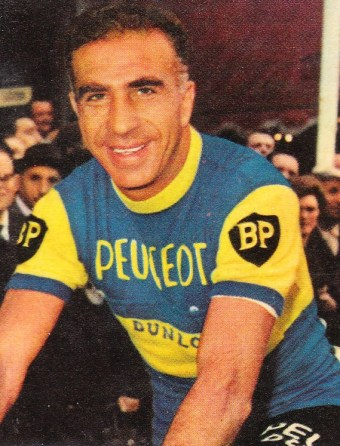 maillot cycliste peugeot dunlop pino cerami