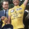 maillot renault elf jaune laurent fignon vintage