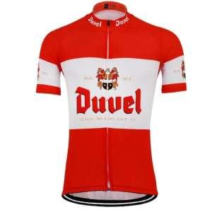maillot manches courtes cyclisme biere duuel original