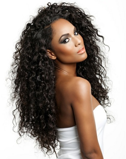 brazilian deep curly hair