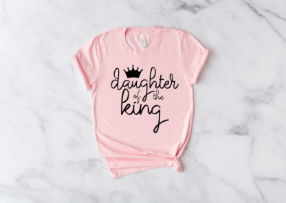 daughter of the king womens short sleeve shirt