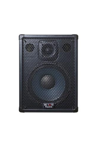 Wayne Jones Audio - single 1x10 4 ohm Passive Bass Cabinet. Handles 500 Watts. Has the same driver & tweeter as the 2x10 except they are 4 ohm drivers. Bass cabinet for bass guitar players, upright bass & double bass players.