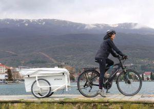 Micro-Wohnwagen für E-Bikes