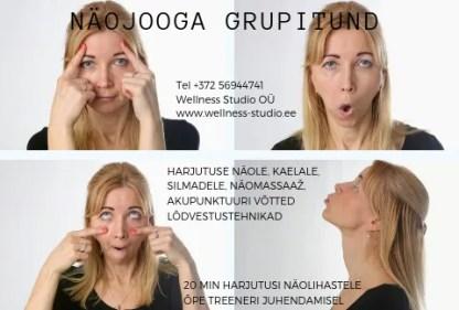 Näojooga Heivi Herne Wellness Studio Terviseteenused. Tervisesaolng Wellness Tallinnas Ilusalong Tallinnas
