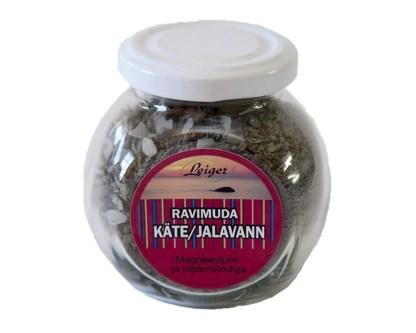 Kuivatatud ravimuda magneesiumiga Hiiumaa ravimuda Käina lahe muda. Mudaravi ökotoode