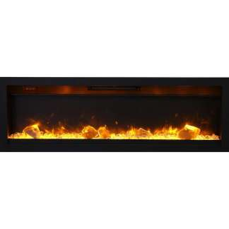Ambiance 50-inch In Wall Electric Fireplace
