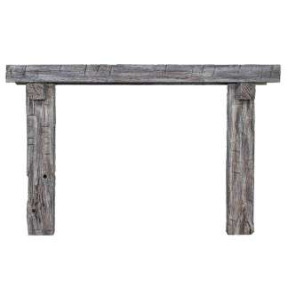 Ambiance Weathered 3 piece Fireplace Surround - Storm Grey