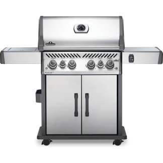 Rogue® SE 525 Propane Gas Grill with Infrared Rear and Side Burners, Stainless Steel