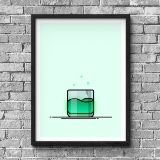 Destiny Cayde's Drink gaming poster by WildeThang