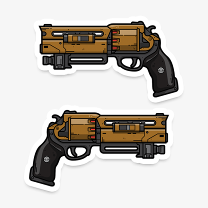 Destiny Fatebringer gaming weapon sticker by WildeThang