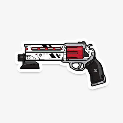 Destiny Luna's Howl vinyl die-cut gaming sticker by WildeThang