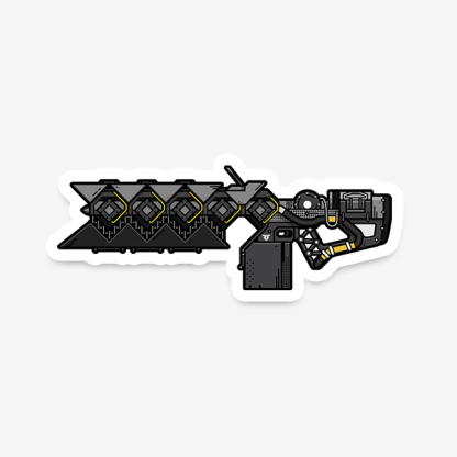 Destiny Sleeper Simulant gaming weapon sticker by WildeThang