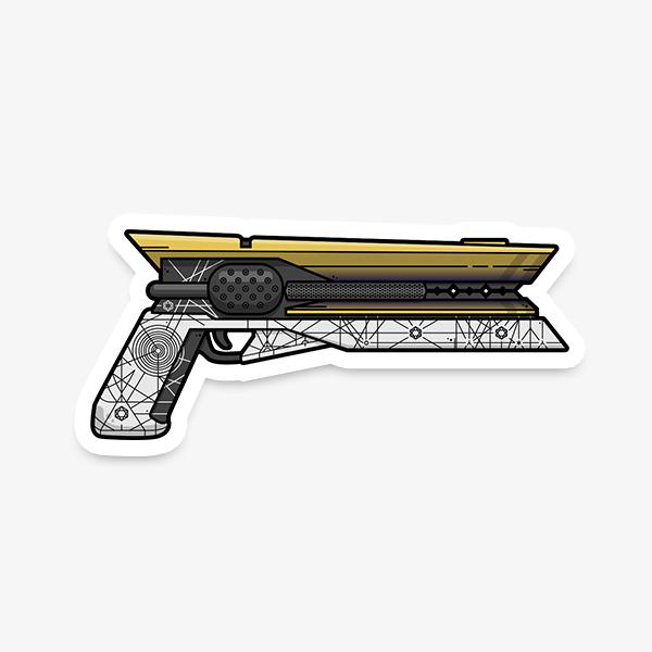 Destiny Sunshot Sticker | Gaming Stickers | WildeThang Shop