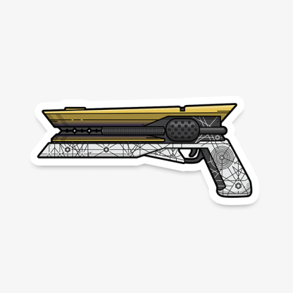 Destiny Sunshot gaming sticker by WildeThang