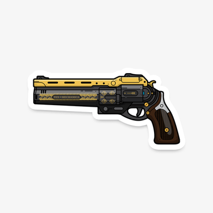 Destiny The Last Word vinyl die-cut gaming weapon sticker by WildeThang